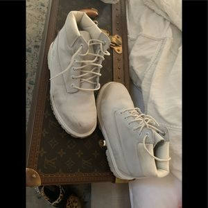 Other - Timberland boots white girls 2